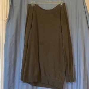 Long sleeve legging top- olive green